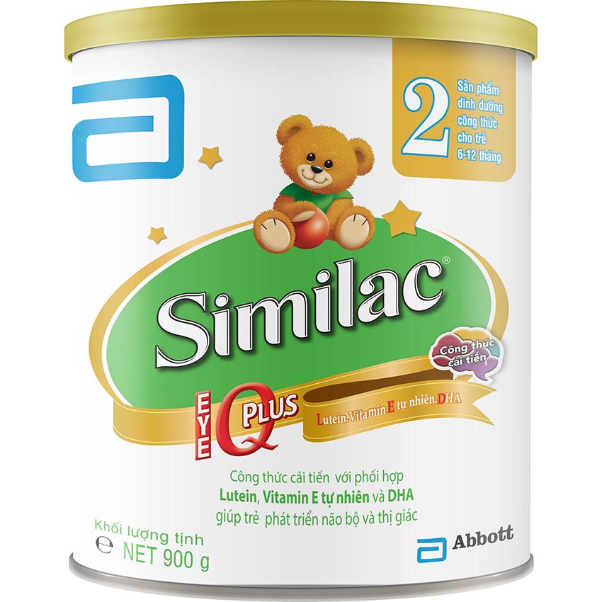 Sữa Bột Similac Iq2 900G New Similac Rẻ Trong Hồ Chí Minh