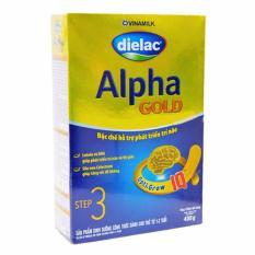 Cửa Hàng Sữa Bột Vinamilk Dielac Alpha Gold Step 3 Hộp Giấy 400G Trực Tuyến