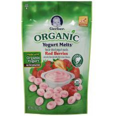 Bán Sữa Chua Kho Gerber Yogurt Melts Trực Tuyến Hồ Chí Minh