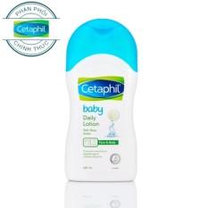 Sữa Dưỡng Da Hằng Ngày CETAPHIL BABY DAILY LOTION 400ml Giá Siêu Cạnh Tranh
