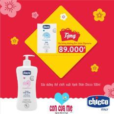 Bán Sữa Dưỡng Thể Chiết Xuất Hạnh Nhan Chicco 114428 500Ml Tặng Xa Bong Dưỡng Ẩm Chicco Rẻ Trong Hà Nội
