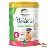 Ôn Tập Sữa Green Meadows Số 4 900G 3 Tuổi Trở Len