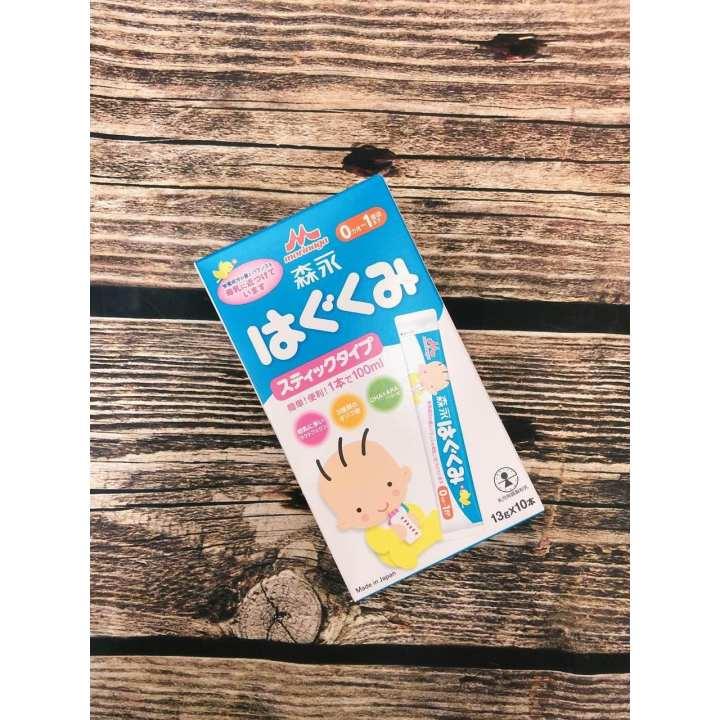 Sữa Morinaga số 0 dạng thanh (13gx10 gói)