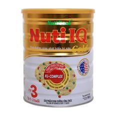 Giá Bán Sữa Nuti Iq Gold Step 3 900G Nguyên Nutifood