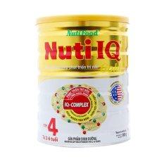 Chiết Khấu Sữa Nuti Iq Step4 Gold 900G Hồ Chí Minh