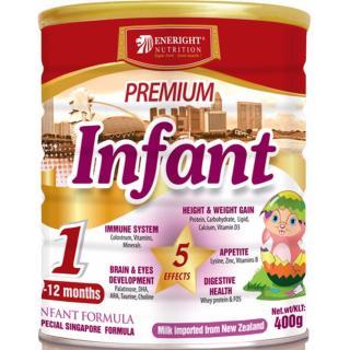 Sữa Premium Infant 400g dành cho trẻ từ 0 12 tháng - (sale date t4 2021) thumbnail