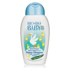 Ôn Tập Sữa Tắm Gội Organic Bio Bio Baby 252 Ast Trắng Xanh