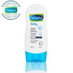 Sữa Tắm Gội Toàn Thân Cetaphil Baby Gentle Wash & Shampoo 2in1 230ml By D-Fair Official.
