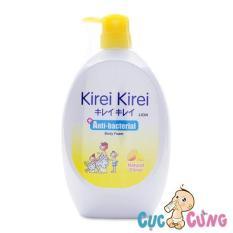 Sữa Tắm Kirei Kirei Body Foam Hương Chanh 900Ml Kodomo Chiết Khấu 30
