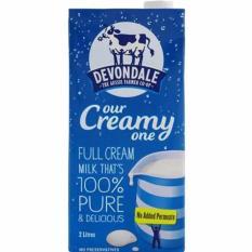 Mua Sữa Tươi Devondale Nguyen Kem 2 Lit Rẻ Trong Vietnam