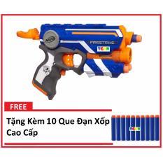 Mua Sung Nerf N Strike Elite Firestrike Blaster Tặng Kem 10 Que Đạn Xốp Cao Cấp Trực Tuyến Hà Nội