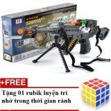 Giá Bán Sung Người Nhện Sử Dụng Pin Co Đen Tặn 01 Rubik Trơn Nhạy 3X3X3 Rẻ Nhất