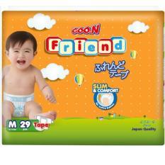 Tã - Bỉm Dán Goon Friend (Elleair) M29 (5-10kg) Giá Tiết Kiệm Nhất Thị Trường