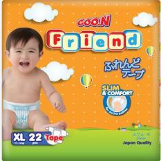 Tã - Bỉm Dán Goon Friend (Elleair) XL22 (11-16kg) Giảm Cực Sốc