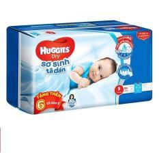 Tã-bỉm dán sơ sinh Huggies Dry S50 cho bé dưới 7kg