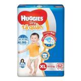 Bán Mua Ta Bỉm Quần Huggies Dry Pants Super Jumbo Xl62 Tặng Kem 1 Ray Tai Co Đen