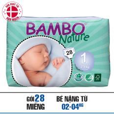Bán Ta Dan Bambo Nature New Born 1 Nb28 Có Thương Hiệu