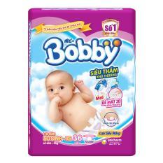Ta Dan Bobby Size Nb Xs 36 Miếng Cho Be Dưới 5Kg Nguyên