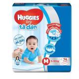 Giá Bán Ta Dan Huggies Dry Super Jumbo M74 Cho Be Từ 5 10Kg Huggies