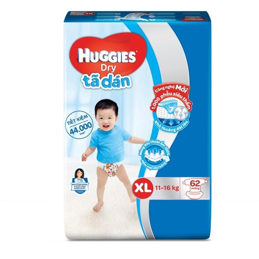 Bán Ta Dan Huggies Dry Super Jumboxl62 Rẻ Nhất