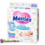 Mua Ta Dan Merries Size Ss 90 Miếng Cho Trẻ Sơ Sinh Dưới 5Kg Newborn Merries