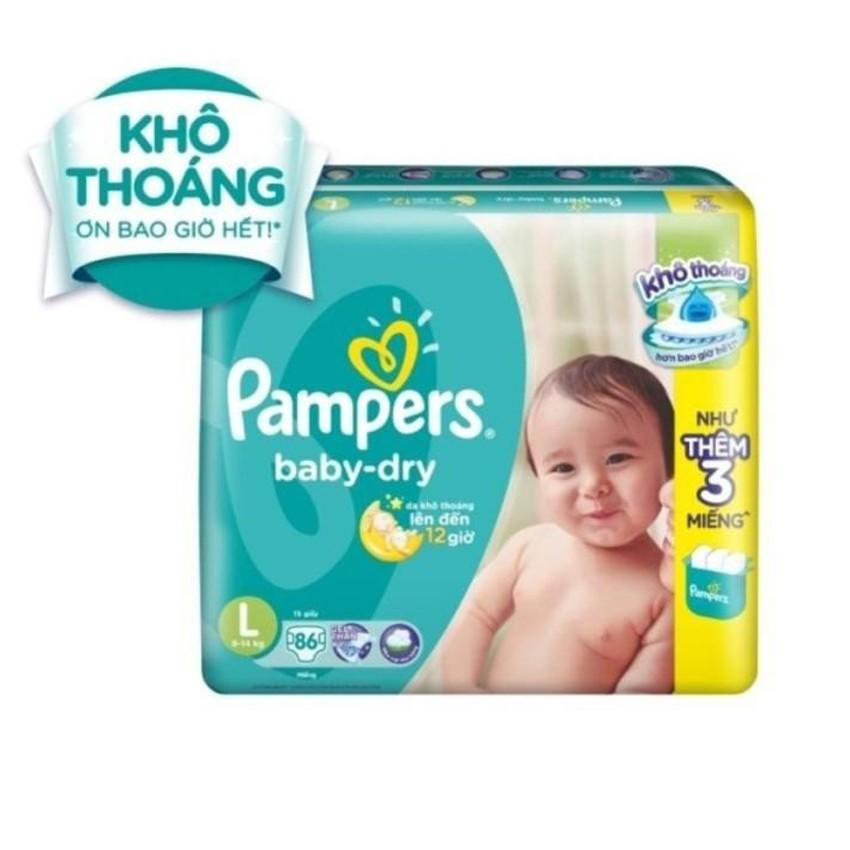 Ta Dan Pampers Size L 86 Miếng 9 14Kg Pampers Chiết Khấu 30