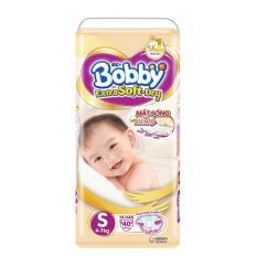 Ôn Tập Cửa Hàng Ta Giấy Cao Cấp Bobby Extra Soft Dry Size S 40 Miếng Trực Tuyến