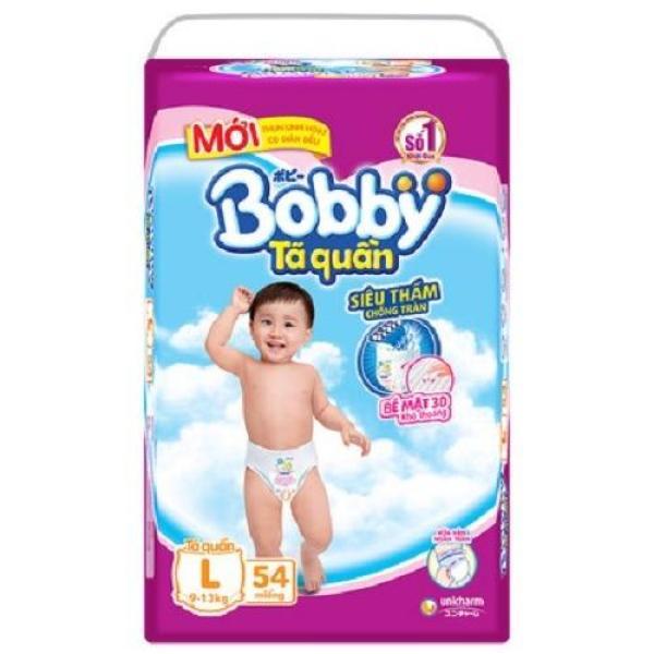 TÃ QUẦN BOBBY L54 MIẾNG CHO BÉ 9-11KG