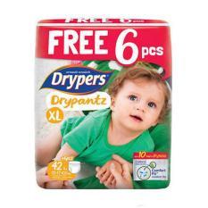 Giá Bán Ta Quần Drypers Drypantz Xl 42 12 17Kg Tặng 6 Miếng Mới