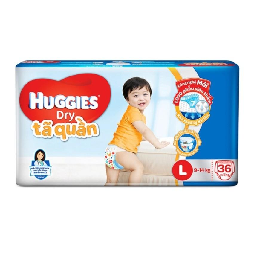 Tã quần Huggies Jumbo L36