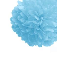 Hình ảnh Talking Tables Wedding Hanging Decorations Garlands Honeycomb Ball Fans (Sky Blue)