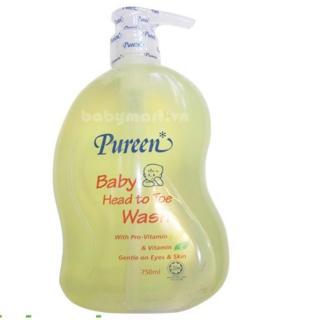 Tắm gội toàn thân Pureen 750ml Provitamin B5 thumbnail