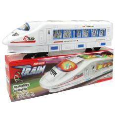 Tàu điện chạy pin tự lái có đèn, phát nhạc Nhật Bản