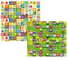 Hình ảnh Thảm Bibo 2 mặt cho bé 1.8x2m (mẫu chữ cái + số)