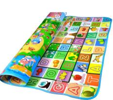 Hình ảnh Thảm chơi 2 mặt cho bes Maboshi loạ đẹp (Size 1.6x2m)