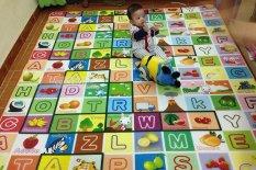 Hình ảnh Thảm chơi 2 mặt cỡ lớn cho bé Maboshi 1m8 x 2m