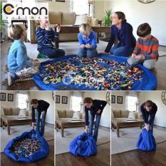 Hình ảnh Thảm chơi kiêm túi đựng lego (xanh dương)