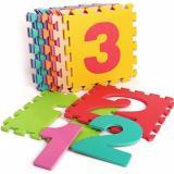 Ôn Tập Tốt Nhất Thảm Trẻ Em 10 Miếng Hinh Chữ Số 9