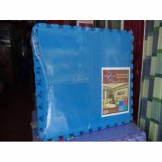 Hình ảnh Thảm xốp ghép 1 màu ÂU LẠC cao cấp 4 miếng 60 x 60 cm( xanh)