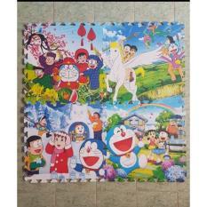 Hình ảnh Thảm xốp lót sàn hình Doremon cho bé