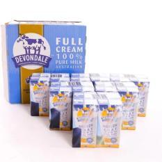 Thung 24 Hộp Sữa Tươi Nguyen Kem Devondale 200Ml Hồ Chí Minh Chiết Khấu