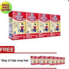 Giá Bán Thung 48 Hộp Sữa Bột Pha Sẵn Vinamilk Dielac Grow Plus 110Ml Tặng 3 Lốc 12 Hộp Cung Loại Nhãn Hiệu Vinamilk