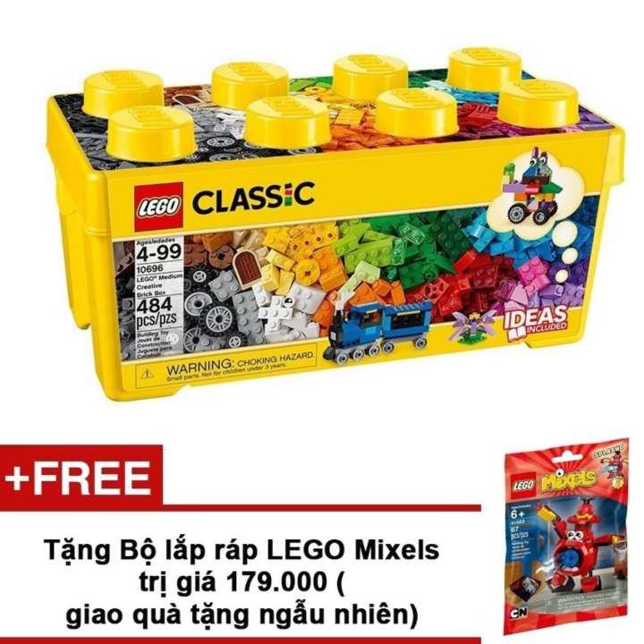 Thùng gạch Lego Classic Sáng Tạo 10696 484 chi tiết...