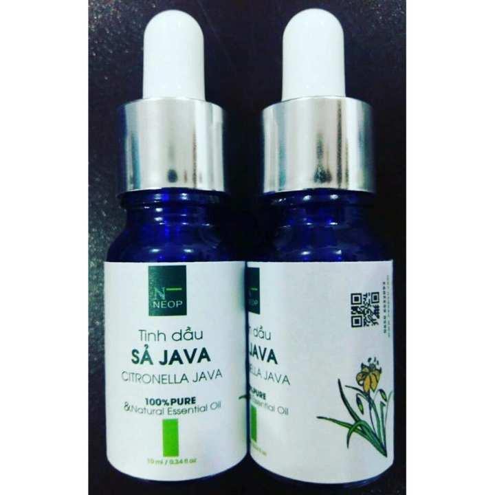 Tinh Dầu Sả Java NEOP Đuổi Muỗi - Citronella Java Essential Oil 10ml