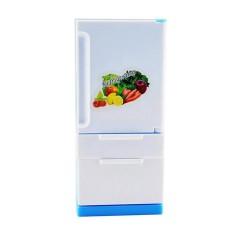 Hình ảnh Toprank Nhựa Mới Nhà Búp Bê Đồ Dùng Nhà Bếp Mô Phỏng Tủ Lạnh Tủ Lạnh Dành Cho Trẻ Em-intl
