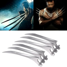 Hình ảnh Toys Games Party Games Crafts Durable Plastic Wolverine Claws Wolf Paw Cosplay Prop Toy - intl