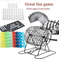 Hình ảnh Truyền thống Bingo Lotto Xổ Số Họ Bộ Trò Chơi-Lồng Bóng Thẻ Quầy-quốc tế