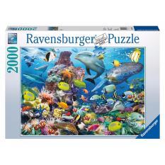 Hình ảnh Tranh ghép hình jigsaw puzzle Ravensburger Underwater 2000 mảnh