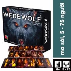 Hình ảnh Bộ Game bài giải trí nhóm Ma sói Ma Sói Ultimate Deluxe - Phiên bản Tiếng Việt