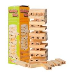 Hình ảnh Trò chơi rút gỗ 54 thanh KoreaStore (Nâu gỗ)